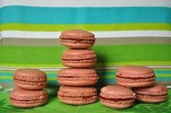 Macarons e bande Immagine Stock
