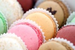 Macarons français Images libres de droits