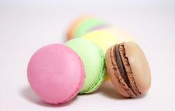 Macarons français Photos libres de droits