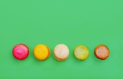 Macarons français Photo libre de droits