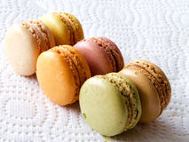 Macarons français Images stock