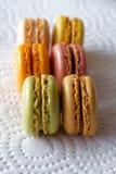 Macarons français Photos stock