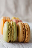 Macarons français Photos stock