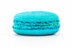 Macarons français doux et colorés image stock