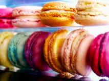 Macarons francesi Fotografia Stock