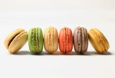 Macarons francesi Immagine Stock