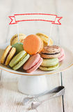 Macarons. Royalty Free Stock Image
