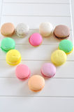 Macarons Heart Royalty Free Stock Image
