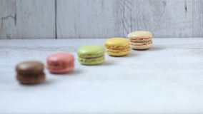 Macarons stock video