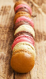 Macarons Placed Over Each Other Royalty Free Stock Photo