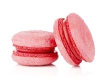 Macarons rosados Fotografía de archivo libre de regalías