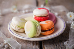 Macarons saborosos Imagem de Stock Royalty Free