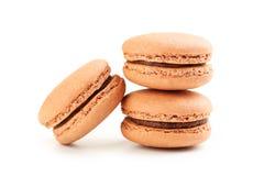 Macarons saborosos do café Foto de Stock