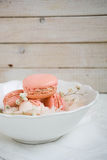 Macarons suaves del color Fotos de archivo