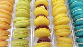 Macarons variopinti francesi immagine stock libera da diritti