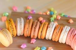 Macarons variopinto Fotografie Stock Libere da Diritti
