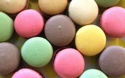 Macarons variopinto Fotografie Stock