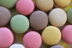 Macarons variopinto Fotografia Stock Libera da Diritti