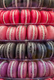 Macarons in Various Color shades Stock Photos