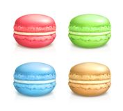 Macarons vector icons Stock Photo