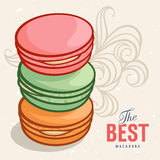 Macarons 001 Royalty Free Stock Photo