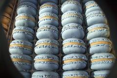 Macaronscake - snoepje - dessert - snoepje - sierlijk gebak - - zoetigheid royalty-vrije stock fotografie