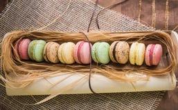 Macaroon μπισκότα Στοκ φωτογραφίες με δικαίωμα ελεύθερης χρήσης