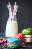 Macaroon μπισκότα στοκ φωτογραφία με δικαίωμα ελεύθερης χρήσης