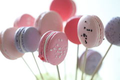 Macaroon. Close-up of macaroon with bright and blur background Royalty Free Stock Images