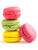 Macaroon. Colorful macaroon with white background Royalty Free Stock Photos