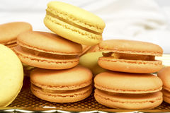 Macaroon biscuits Royalty Free Stock Photo