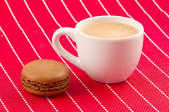Macaroon and coffee Stock Photo