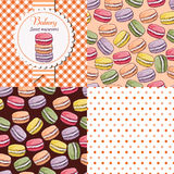 Macaroon collection Royalty Free Stock Photo