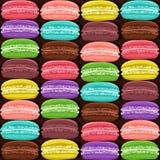 Macaroon colorful seamless pattern Stock Image