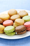 Macaroon cookies Stock Photos