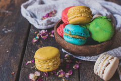 Macaroon cookies Royalty Free Stock Photos