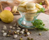 Macaroon cookies Royalty Free Stock Photography