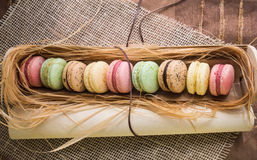 Macaroon cookies Royalty Free Stock Photos