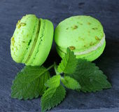 Macaroon cookies Stock Photography