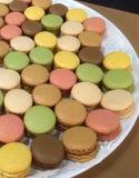 Macaroon cookies Stock Image