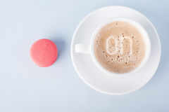 Macaroon on Royalty Free Stock Photo