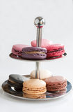 Macaroon Display Royalty Free Stock Images