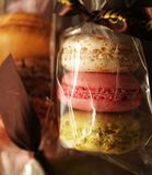 Macaroon, french dessert Royalty Free Stock Photography