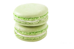 Macaroon green Stock Images