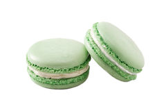 Macaroon green Stock Photos