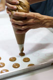 Macaroon Making Stock Photography