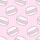 Macaroon pattern Stock Images
