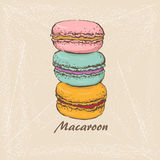 Macaroon  11 Stock Photo