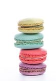 Macaroon sweet dessert french cuisine style Stock Photo