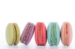 Macaroon sweet dessert french cuisine style Stock Images